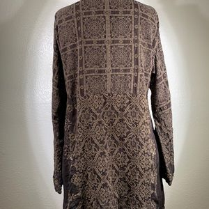 Johnny Was Tops - Johnny Was Florence tile Tunic Size M NWOT